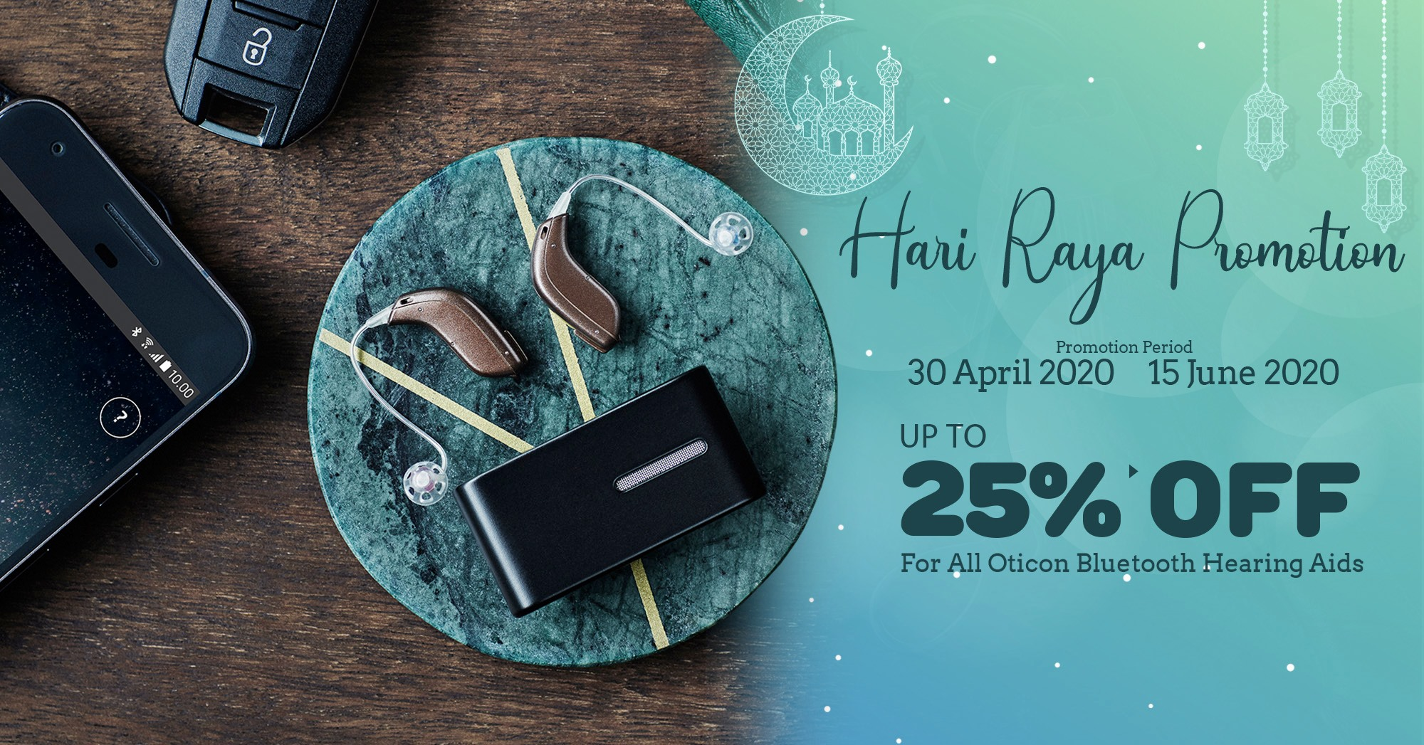 Soundlife The Best Offer For Hearing Aid, Up To 25% Off For All Oticon Bluetooth Hearing Aids 02