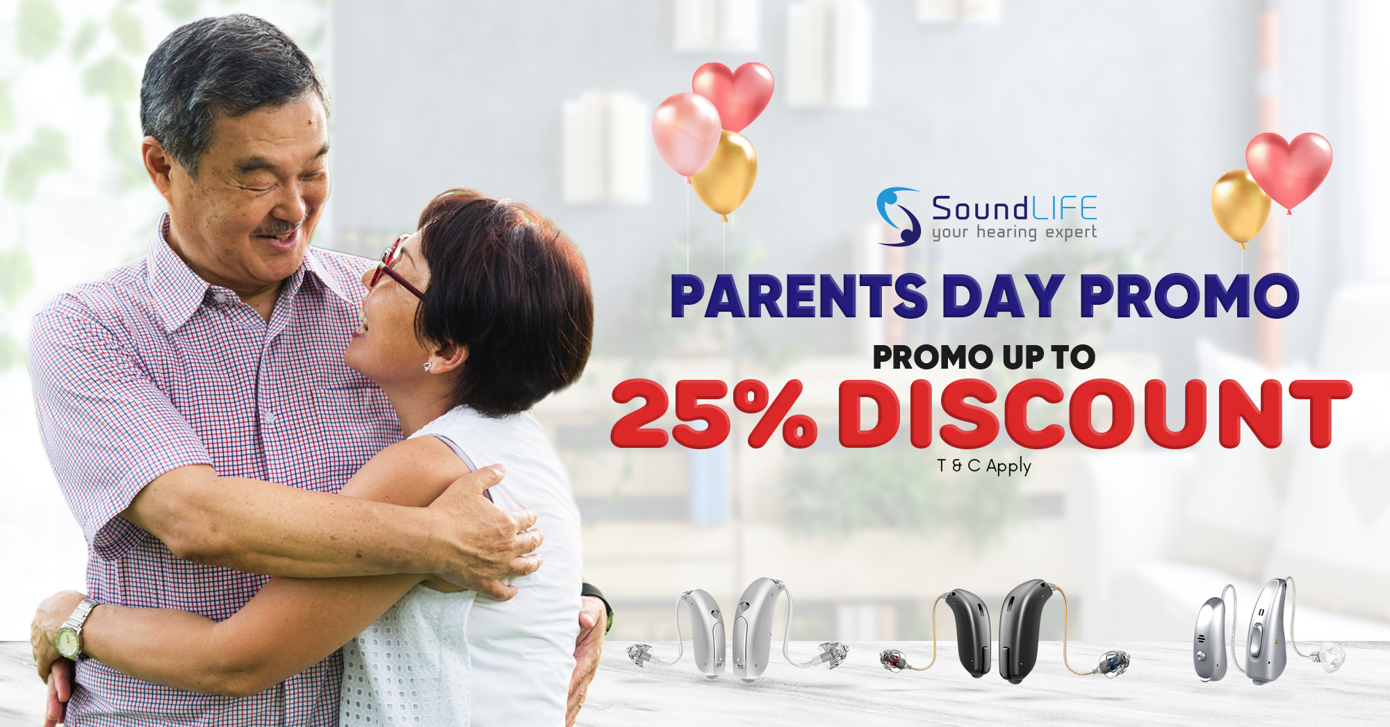 Hearing Aid Parent Day Promotion