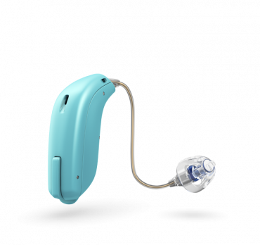 Oticon Opn Play Ric Aquamarine