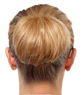 Ria2 Minirite Bianural Ear Back View
