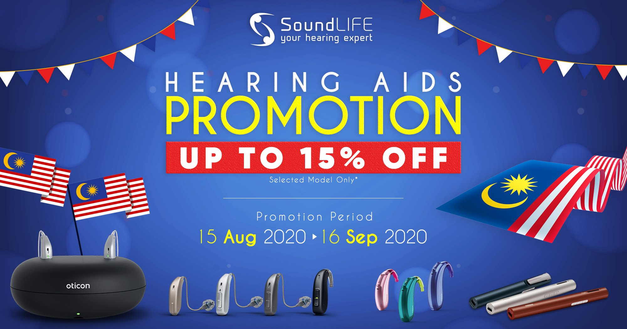 Soundlife Hearing Aids Promo