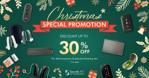 Latest Offer From Soundlife Hearing. Special Christmas Promotion