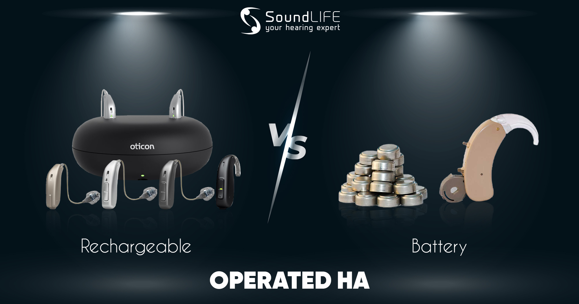 which is better battery operated vs rechargeable hearing aid